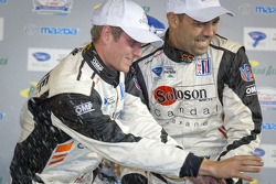 PC podium: Alex Popow and Ryan Dalziel