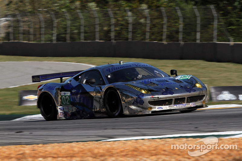 #02 Extreme Speed Motorsports Ferrari F458 Italia: Ed Brown, Guy Cosmo, Anthony Lazzaro