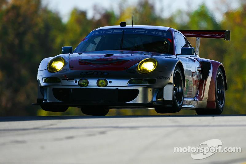#44 Flying Lizard Motorsports Porsche 911 GT3 RSR: Seth Neiman, Marco Holzer, Nick Tandy
