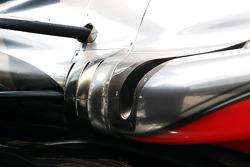 McLaren exhaust detail