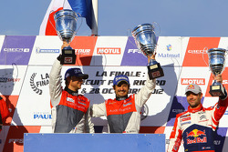 Podium: race winners David Hallyday, Stéphane Ortelli