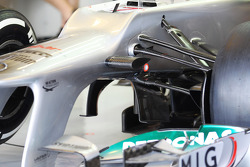 Ferrari front suspension and keel detail
