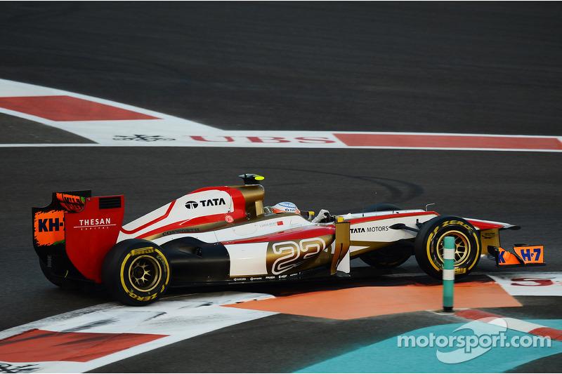 Narain Karthikeyan, HRT Formula One Team HRT