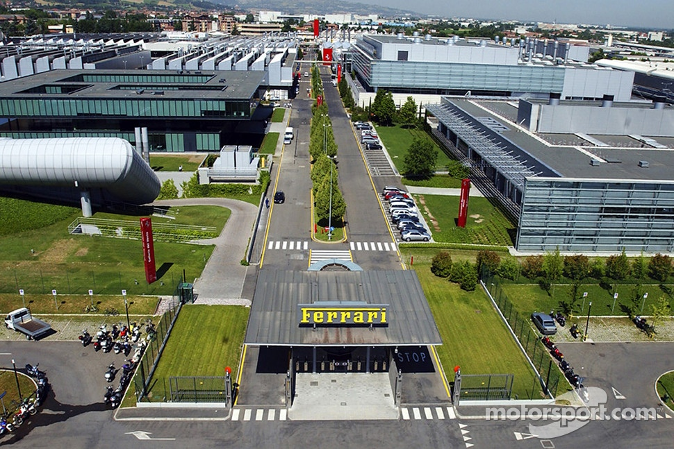 The Ferrari facilities