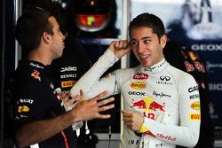 Antonio Felix da Costa, Red Bull Racing Test Driver with Robin Frijns, Red Bull Racing Test Driver