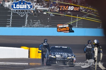 Trouble for Jimmie Johnson, Hendrick Motorsports Chevrolet