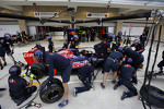 Scuderia Toro Rosso practice pit stops