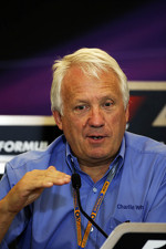 Charlie Whiting, FIA Delegate gives a FIA Press Conference explaining the 2013 Regulations