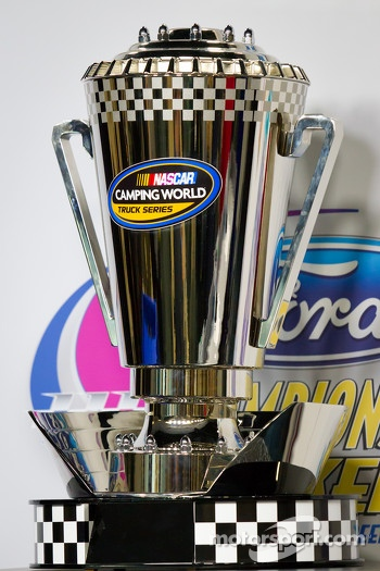 NASCAR Camping World Truck Series trophy