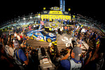 Championship victory lane: 2012 NASCAR Sprint Cup Series champion Brad Keselowski, Penske Racing Dodge enters victory lane
