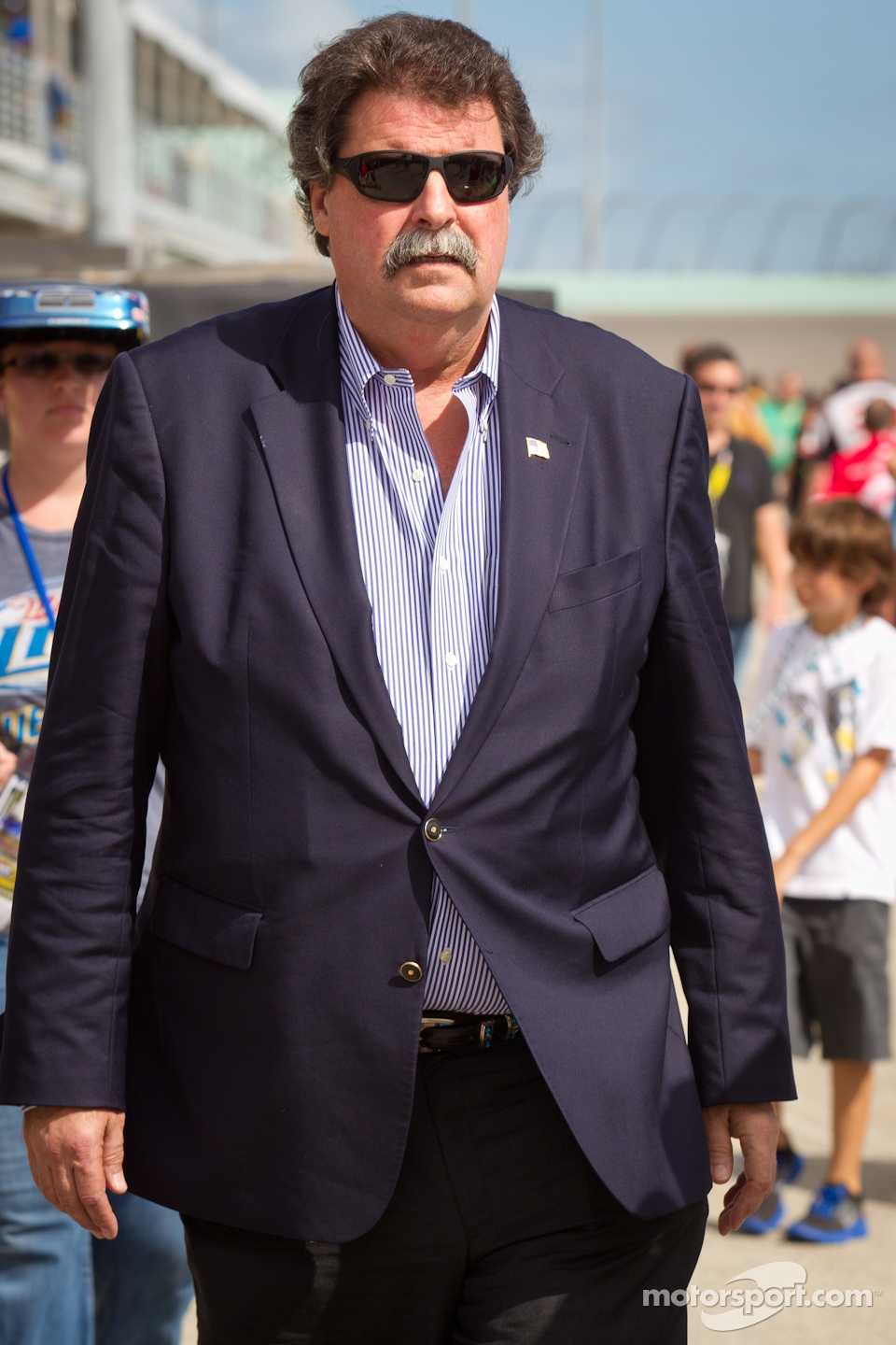 NASCAR President Mike Helton