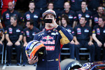 Daniel Ricciardo, Scuderia Toro Rosso at a team photograph