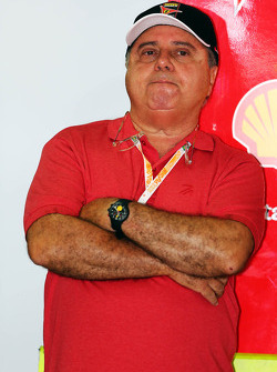 Luiz Antonio Massa, father of Felipe Massa, Ferrari