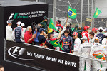 Drivers parade