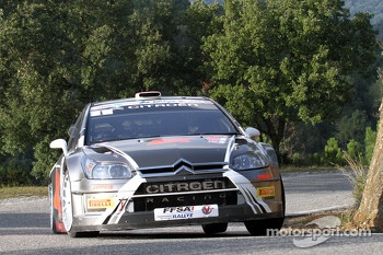 Robert Kubica and Emanuele Inglesi, Citron C4 WRC