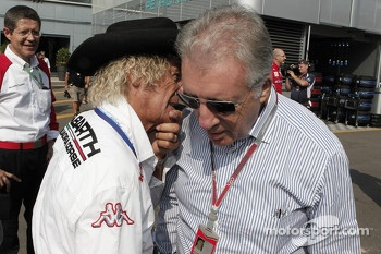 Arturo Merzario and Piero Ferrari