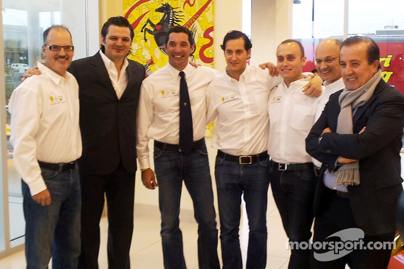 Max Papis and Jeff Segal announced in AIM Autosport's second Ferrari entry for 2013