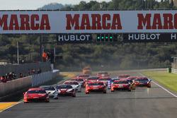 Start of Coppa Shell race 1