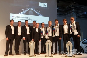 The 2012 BMW DTM drivers