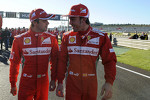 Felipe Massa and Fernando Alonso