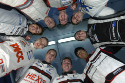 Members of the Porsche Junior program