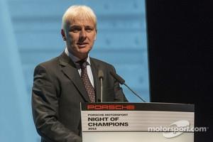 Wolfgang Hatz, Director of Research and Development, Porsche