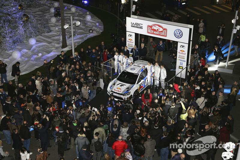 Volkswagen Polo R WRC presentation in Monte Carlo