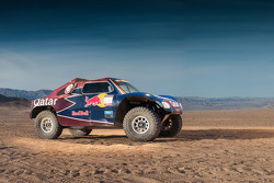 The Qatar Red Bull Rally Team buggy