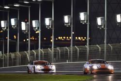 #20 Gulf Racing Middle East Aston Martin Vantage: John Iossifidis, Frederic Fatien, Martin Baerschmidt, Nigel Farmer