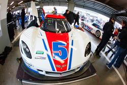 #5 Action Express Racing Corvette DP: Christian Fittipaldi, Felipe Nasr, Nelson A. Piquet
