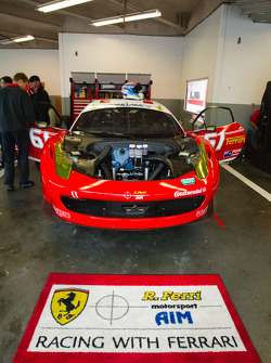 #61 R.Ferri/AIM Motorsport Racing with Ferrari Ferrari 458
