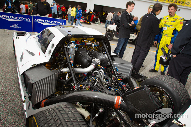 The new Michael Shank Racing Ford EcoBoost car