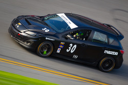 #30 i-MOTO Mazda Speed 3: Ryan Ellis, Mat Pombo
