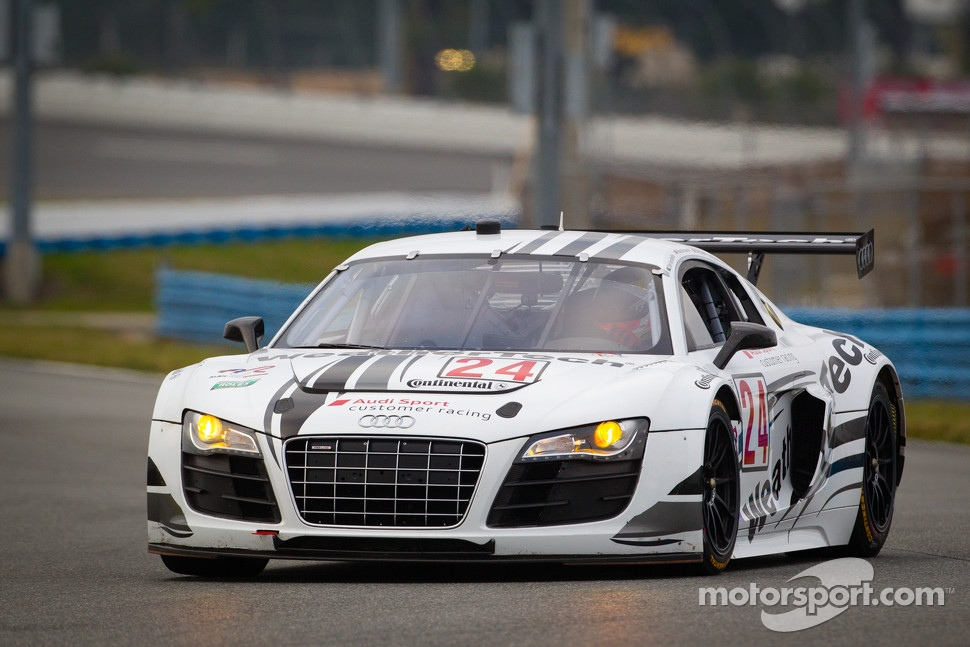 #24 Audi Sport Customer Racing/AJR Audi R8 Grand-Am: Filipe Albuquerque, Oliver Jarvis, Edoardo Mortara, Dion von Moltke