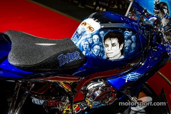 Jannette Cole's Michael Jackson bike