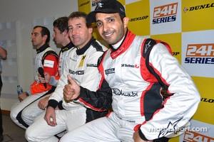 Pole winners Khaled Al Qubaisi, Bernd Schneider, Jeroen Bleekemolen, Sean Edwards