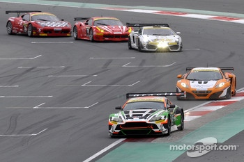 #15 Craft Racing AMR Aston Martin Vantage GT3: Frank Yu, Tomonobu Fujii, Darren Turner, Darryl O'Young