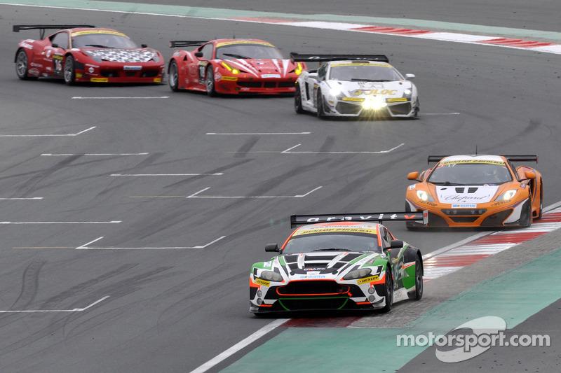 #15 Craft Racing AMR Aston Martin Vantage GT3: Frank Yu, Tomonobu Fujii, Darren Turner, Darryl O'Young
