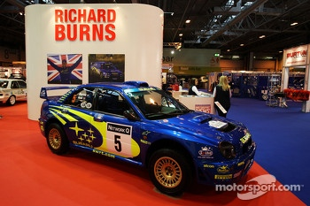 The Motorsport News Richard Burns Rally Feature with his Subaru Impreza