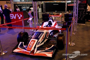 New Formula 4 car