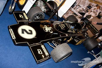 Jackie Ickx Lotus F1 Car
