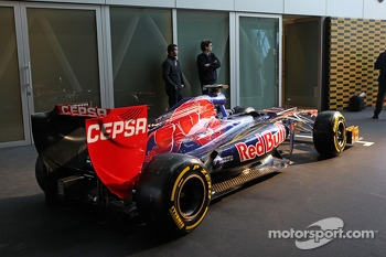 Scuderia Toro Rosso with Pirelli tires