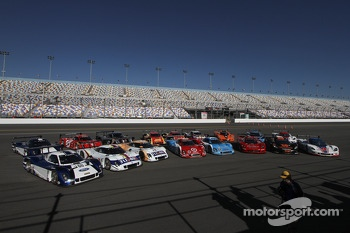 Daytona Prototype group photo