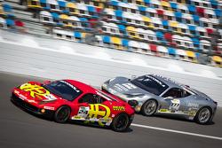 #24 Auto Gallery Ferrari 458: Carlos Kauffmann and #777 Ferrari Quebec Ferrari 458: Emmanuel Anassis