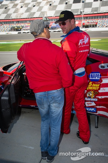 Rui Aguas and Clint Bowyer
