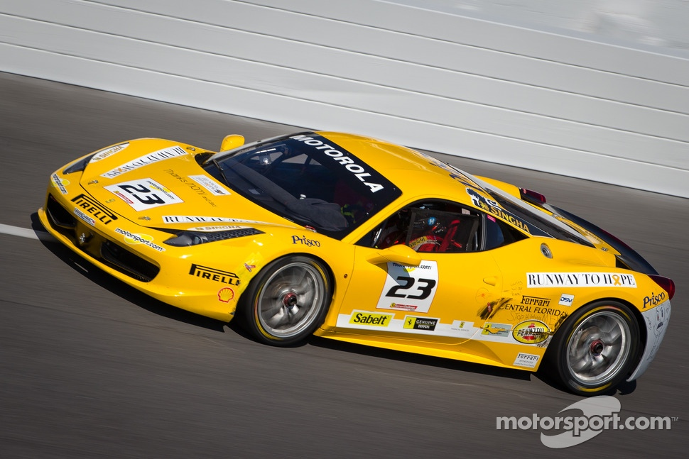 #23 Ferrari of Central Florida Ferrari 458: Onofrio Triarsi