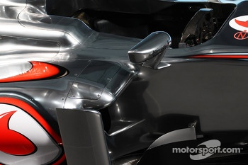 McLaren MP4-28 sidepod
