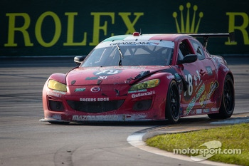#78 Racers Edge Motorsports Mazda RX-8: Rudy Camarillo, Martin Fuentes, Carlos Peralta, Ricardo Perez De Lara