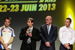 Benoit Trluyer, Nicolas Lapierre, Pascal Vasselon, Toyota Racing, and Wolfgang Ullrich, Audi Motorsport