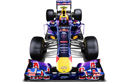 The Red Bull Racing RB9 of Mark Webber